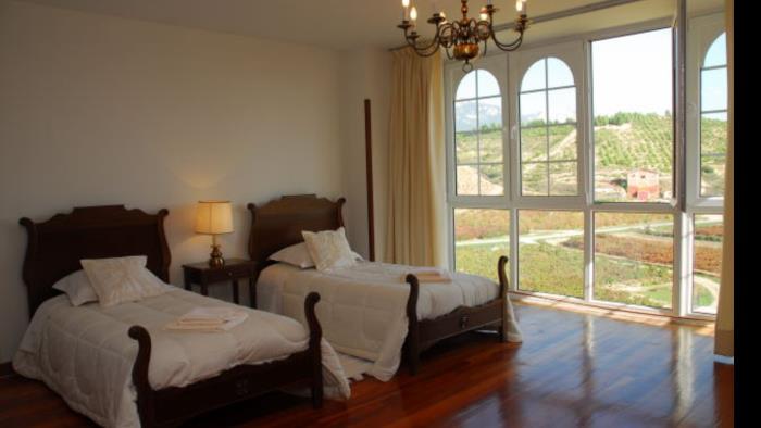 habitación doble casa rural vinea et oliva en Alava
