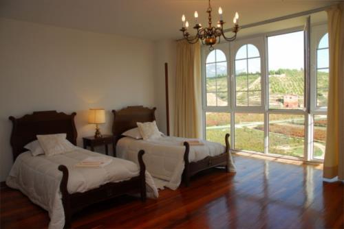 habitación doble 1 casa rural vinea et oliva en Alava