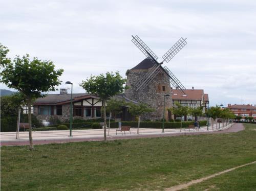 paisaje 4 casa rural Oraindi en Bizkaia