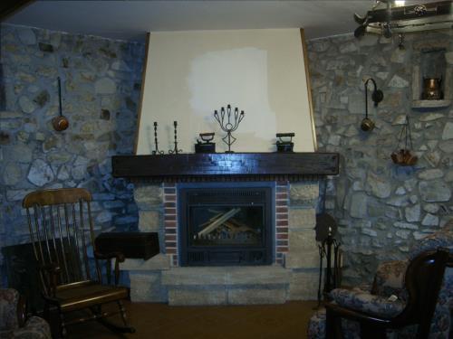 sala casa rural Oraindi en Bizkaia