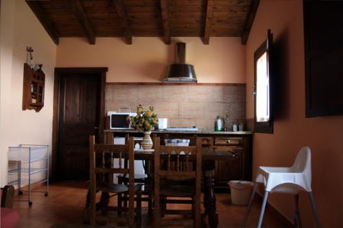 kitchen farm house merrutxu in Bizkaia
