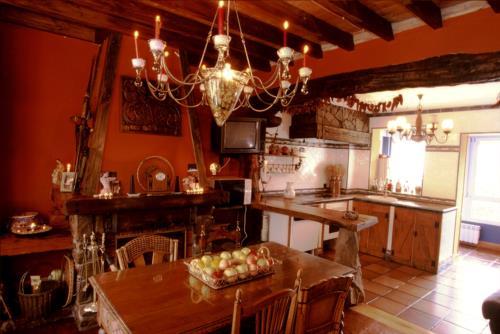 Cocina agroturismo Bisalde en Bizkaia
