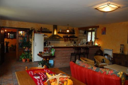 salón 1 casa rural arbaieta etxea en Alava