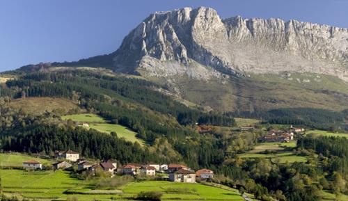 entorno casa rural etxegorri en Vizcaya