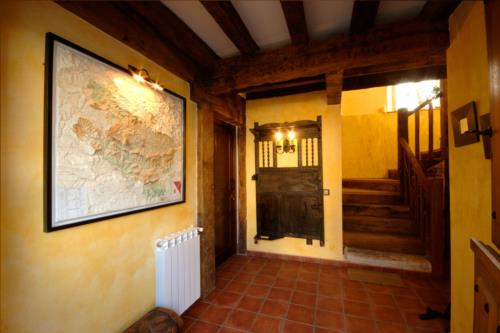 entrada casa rural Zadorra etxea en Alava