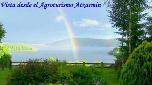 view 4 farm house atxarmin in Alava