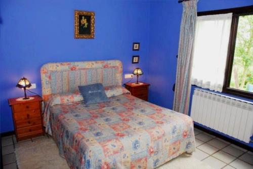 double room farn house atxarmin in Alava