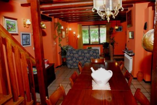 living room farm house atxarmin in Alava