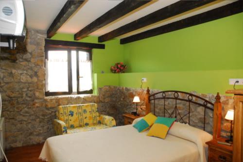 habitación doble casa rural altuena en Vizcaya