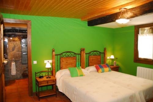 habitación doble 2 casa rural altuena en Vizcaya