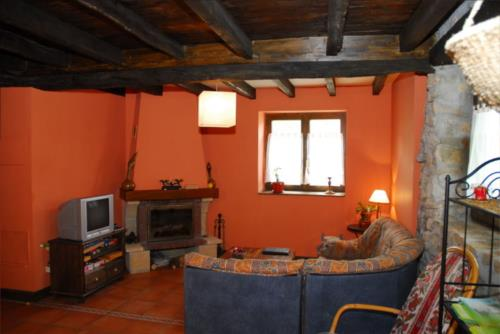 living room country house altuena in Bizkaia