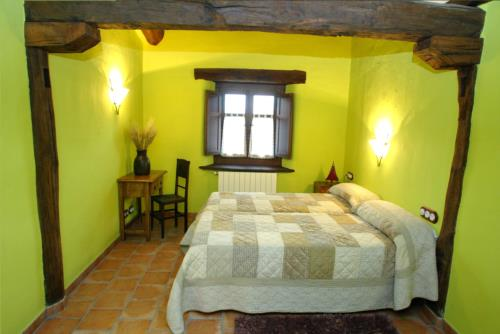 habiatción doble casa rural sorginetxe en Alava