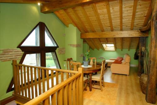 living room country house sorginetxe in Alava