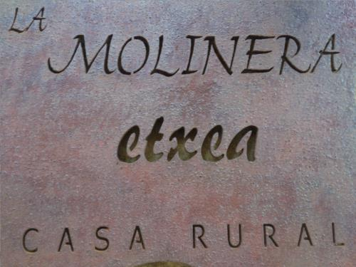 logo country house la molinera etxea in Alava