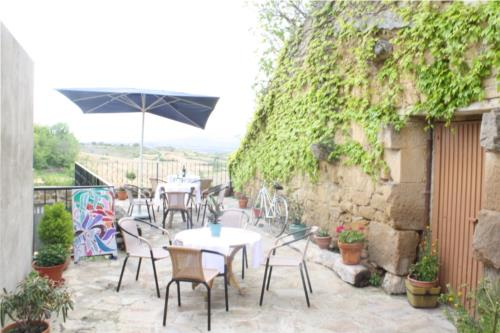 terrace country house la molinera etxea in Alava