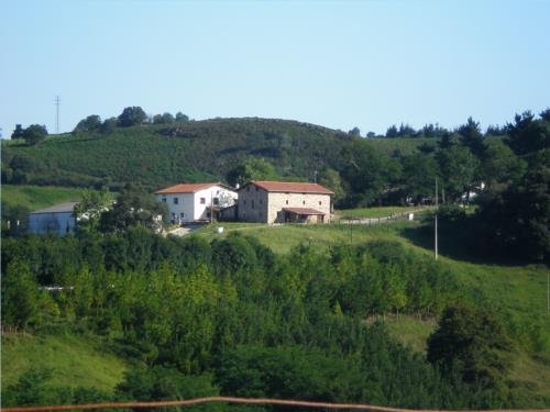 entorno agroturismo Abeta Zaharra en Gipuzkoa