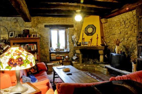 Sala casa rural Kaxkarre en Gipuzkoa