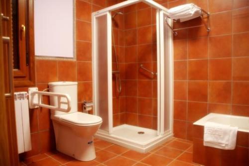 baño agroturismo Kortazar en Gipuzkoa