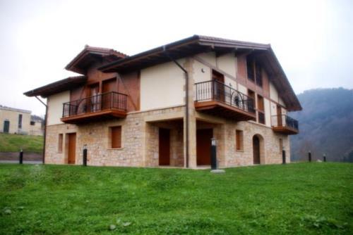 fachada 1 agroturismo Kortazar en Gipuzkoa