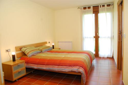 habitación doble 4 agroturismo Kortazar en Gipuzkoa