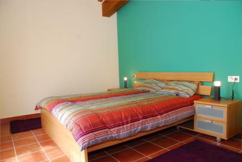 habitación doble 1 agroturismo Kortazar en Gipuzkoa