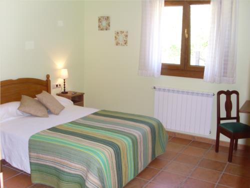 habitación doble 1 casa rural Azketa-Errota en Gipuzkoa