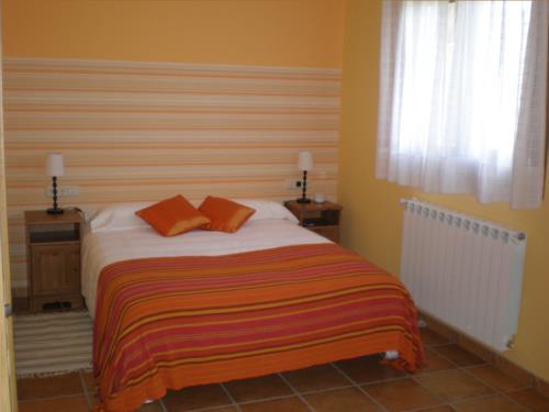 habitación doble casa rural Azketa-Errota en Gipuzkoa