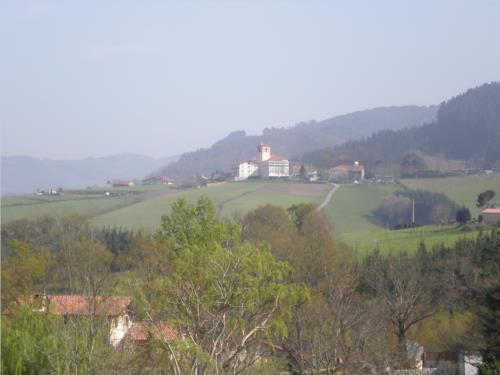paisaje casa rural Azketa-Errota en Gipuzkoa