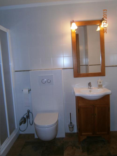 baño 1 casa rural Legaire en Alava