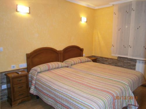 habitación doble casa rural Legaire en Alava