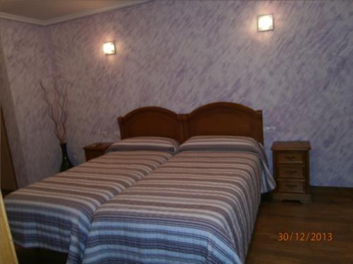 habitación doble 1 casa rural Legaire en Alava