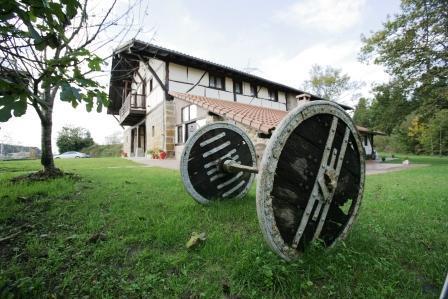 Detalle casa rural Pagaigoikoa en Bizkaia