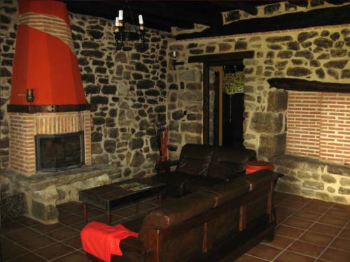 Sala casa rural Pagaigoikoa en Bizkaia