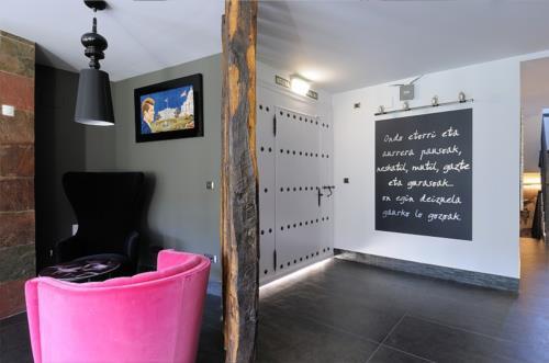 inside country house aldori in Bizkaia