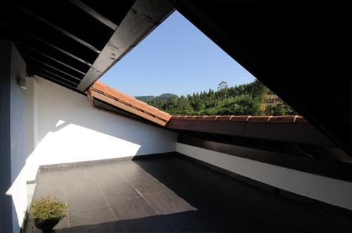 terrace country house aldori in Bizkaia