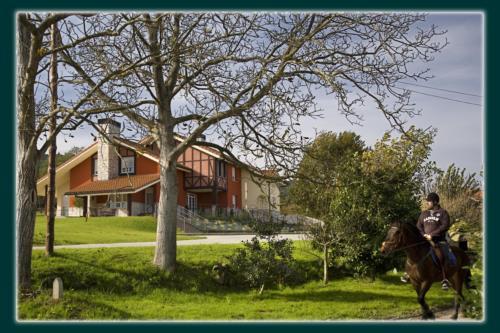 landscape farm housemadarian in Bizkaia