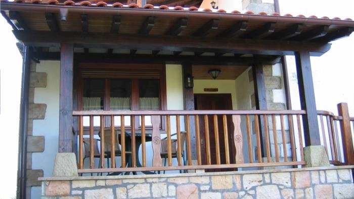 terraza casa rural landarbide zahar 2 en gipuzkoa
