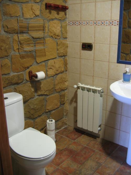 baño casa rural landarbide zahar 2 en gipuzkoa