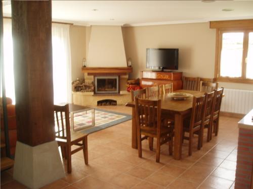 sala 3 casa rural Eguzkilore en Bizkaia