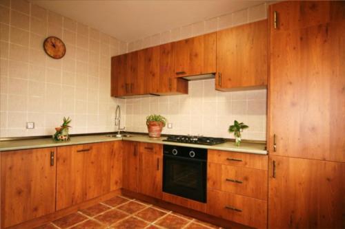 cocina casa rural los huetos en Alava