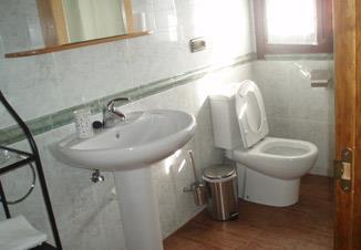 baño agroturismo Landagarre en Gipuzkoa