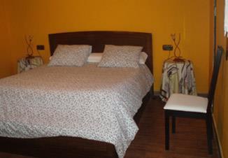 habitación doble 2 agroturismo Landagarre en Gipuzkoa