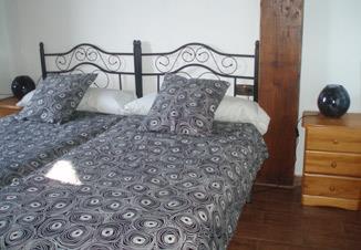 habitación doble 3 agroturismo Landagarre en Gipuzkoa