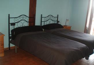 habitación doble 4 agroturismo Landagarre en Gipuzkoa