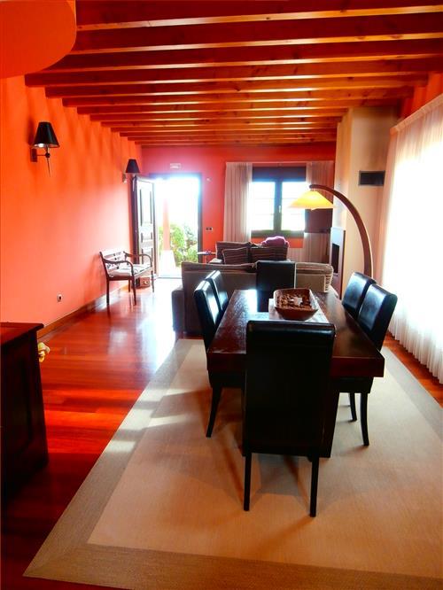 sala Casa Rural Telleri en Bizkaia