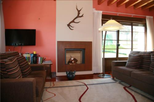 living room country house telleri in Bizkaia