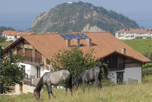 animals farm house usotegi in Gipuzkoa