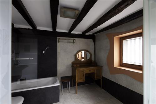 baño casa rural satzu lea artibai bizkaia nekatur