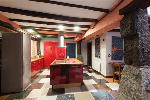 cocina casa rural satzu lea artibai bizkaia nekatur