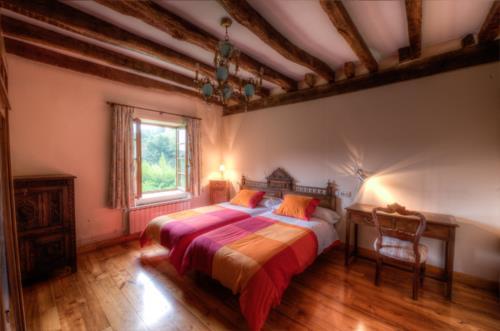double room farm house ibarrolabekoa in Gipuzkoa